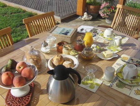 Petit-déjeuner - Chambres d'hôtes Meuse