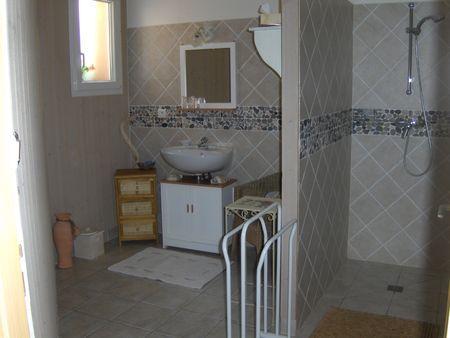Salle de bain des chambres d'hôtes